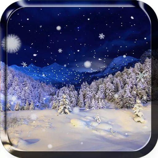 Zimowy krajobraz ze szczytu gór