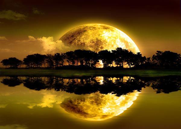 Krajobraz na dobranoc