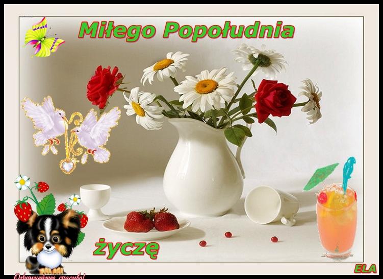 Miłego popołudnia życzę