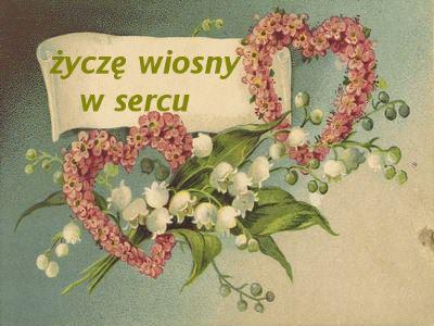 Serca z życzeniami